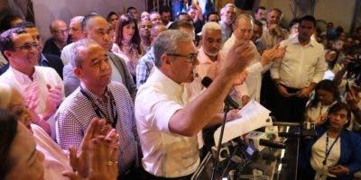 Gonzalo Castillo, virtual ganador de la primarias en el PLD.