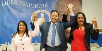 Norberto Rodríguez, quien fue el más votado, seguido de Servia Iris Familia, y Kenia Bidó.