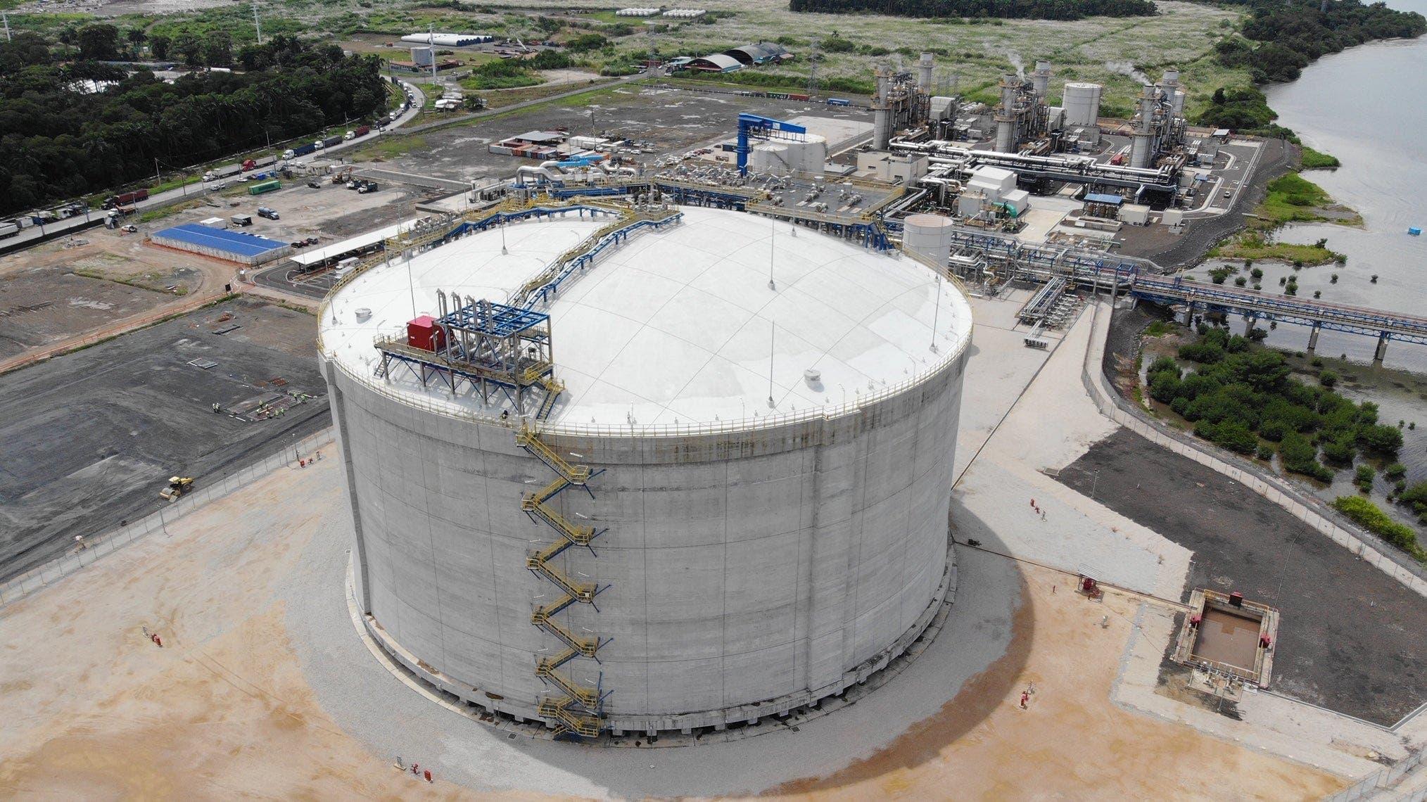 AES comienza a operar el primerHub de Gas Natural en Centroamérica