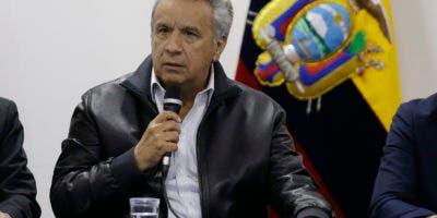 El presidente ecuatoriano Lenín Moreno. AP