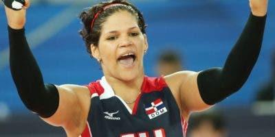 Priscilla Rivera celebra uno de los tantos triunfos que ha conseguido en su carrera con la selección nacional.  archivo