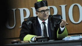Román Jáquez Liranzo,  presidente del TSE.