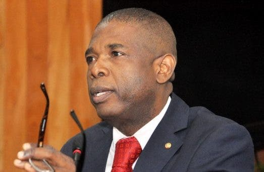Presidente del Senado haitiano, Carl Murat Cantave.