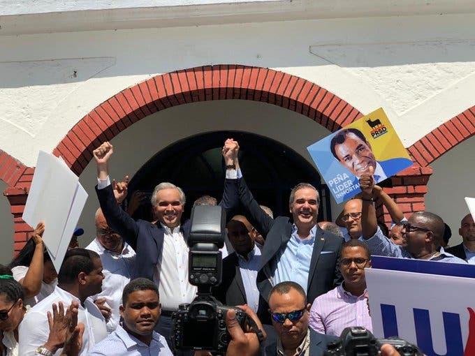 El PRSD proclama a Luis Abinader como su candidato presidencial