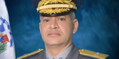 General de brigada Ernesto Rafael Rodríguez García, director de la Digesett.