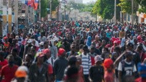 Miles de haitianos volvieron a las calles a exigir la renuncia de Moise.