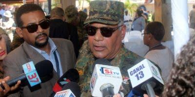 El teniente General Rubén Paulino Sem, ministro de Defensa.  Foto: Duany Núñez.