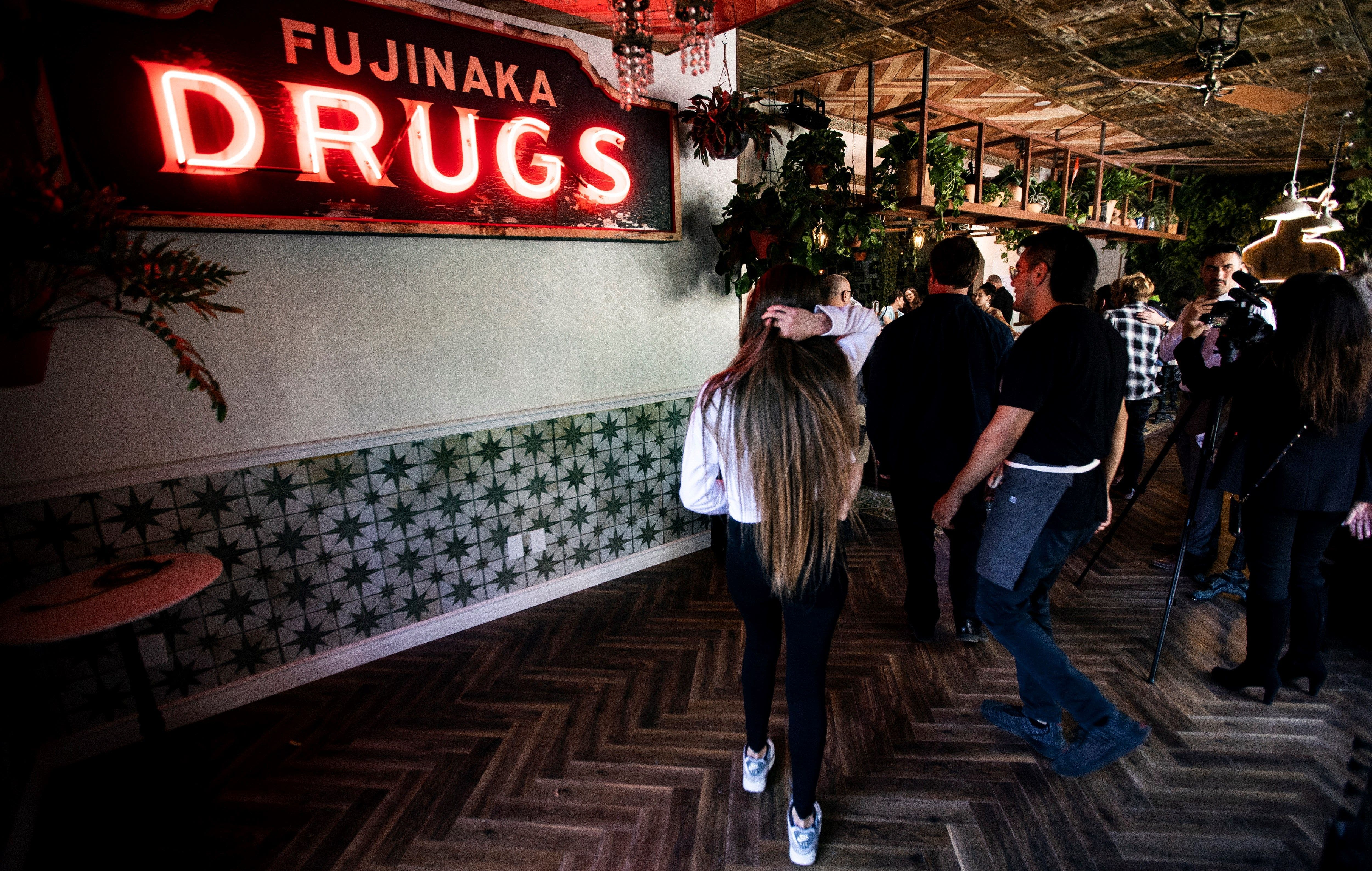 First Cannabis Cafe in the US opens in Los Angeles