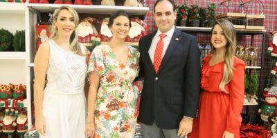Yill Odreman, Annette Álvarez, Miguel Ángel Fernández y Jennifer Terrero.