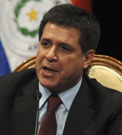 Horacio Cartes se pone a disposición de la fiscalía de Paraguay