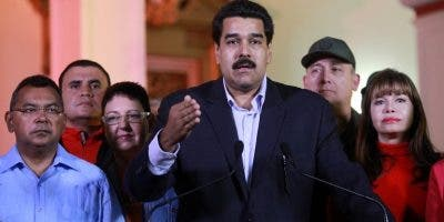 Las sanciones afectan a Nicolás Maduro y sus colaboradores.