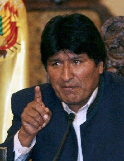 Evo Morales sale ileso tras la caída de helicóptero en que se trasladaba