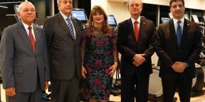 Manuel E. Jiménez, Marino  Espinal, Antonia Antón de Hernández, Manuel A. Grullón y Christopher Paniagua.