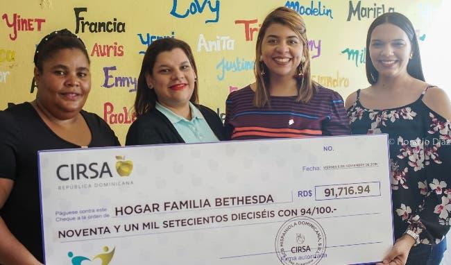 El Grupo Cirsa entrega un donativo a hogar