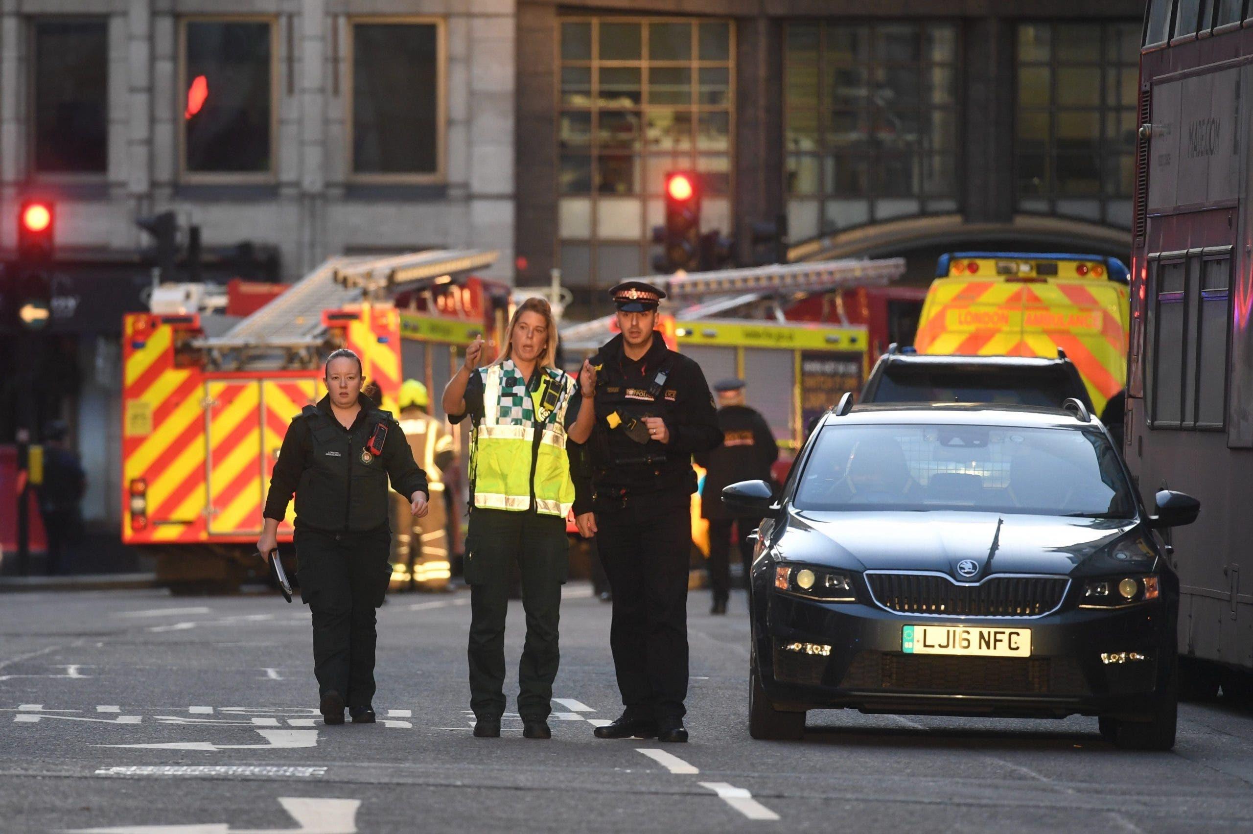 Varias personas apuñaladas cerca del Puente de Londres