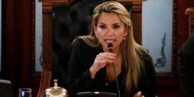 La  senadora opositora Jeanine Áñez-