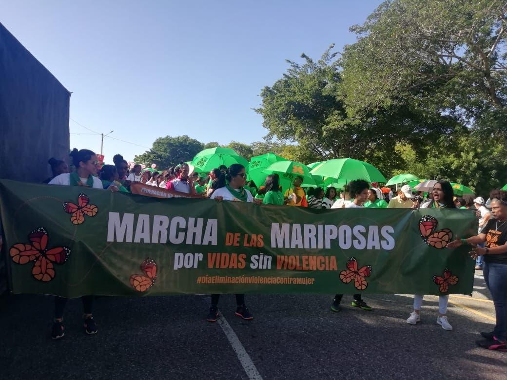 Marcha de las Mariposas: Miles caminan en rechazo a la violencia contra la mujer