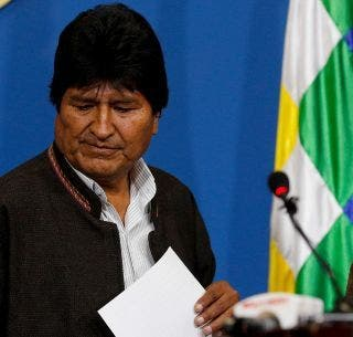 Renuncia el presidente de Bolivia, Evo Morales, tras casi 14 años en el poder