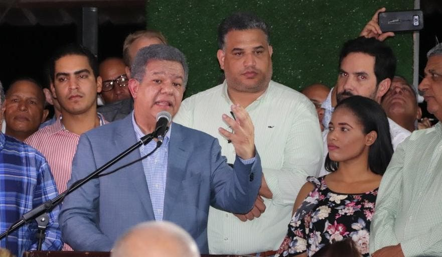 Leonel Fernández asegura se construye alianza opositora para sacar al PLD del poder