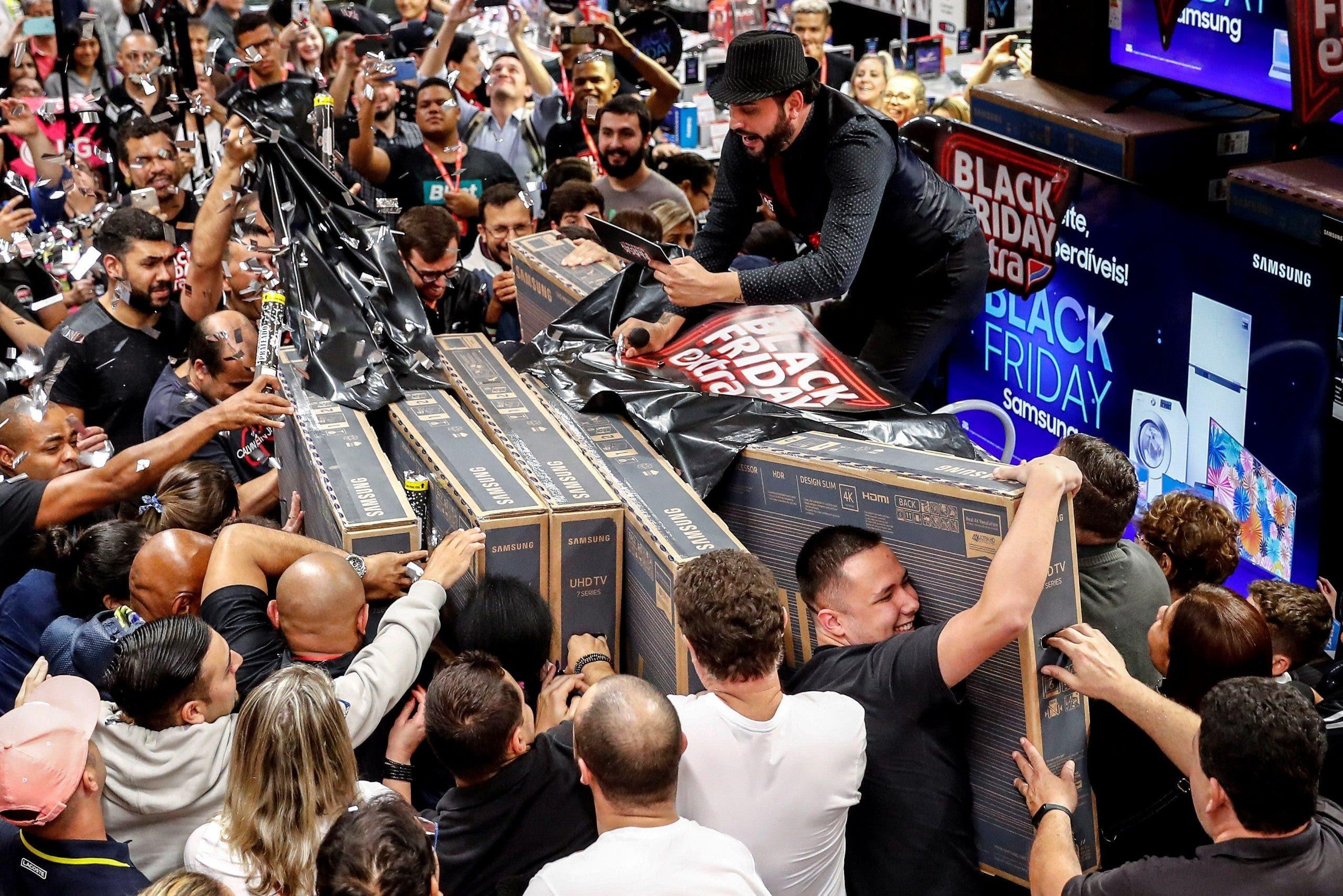 """El """"Black Friday"""" sigue creciendo a pesar de los temores a una recesión"""