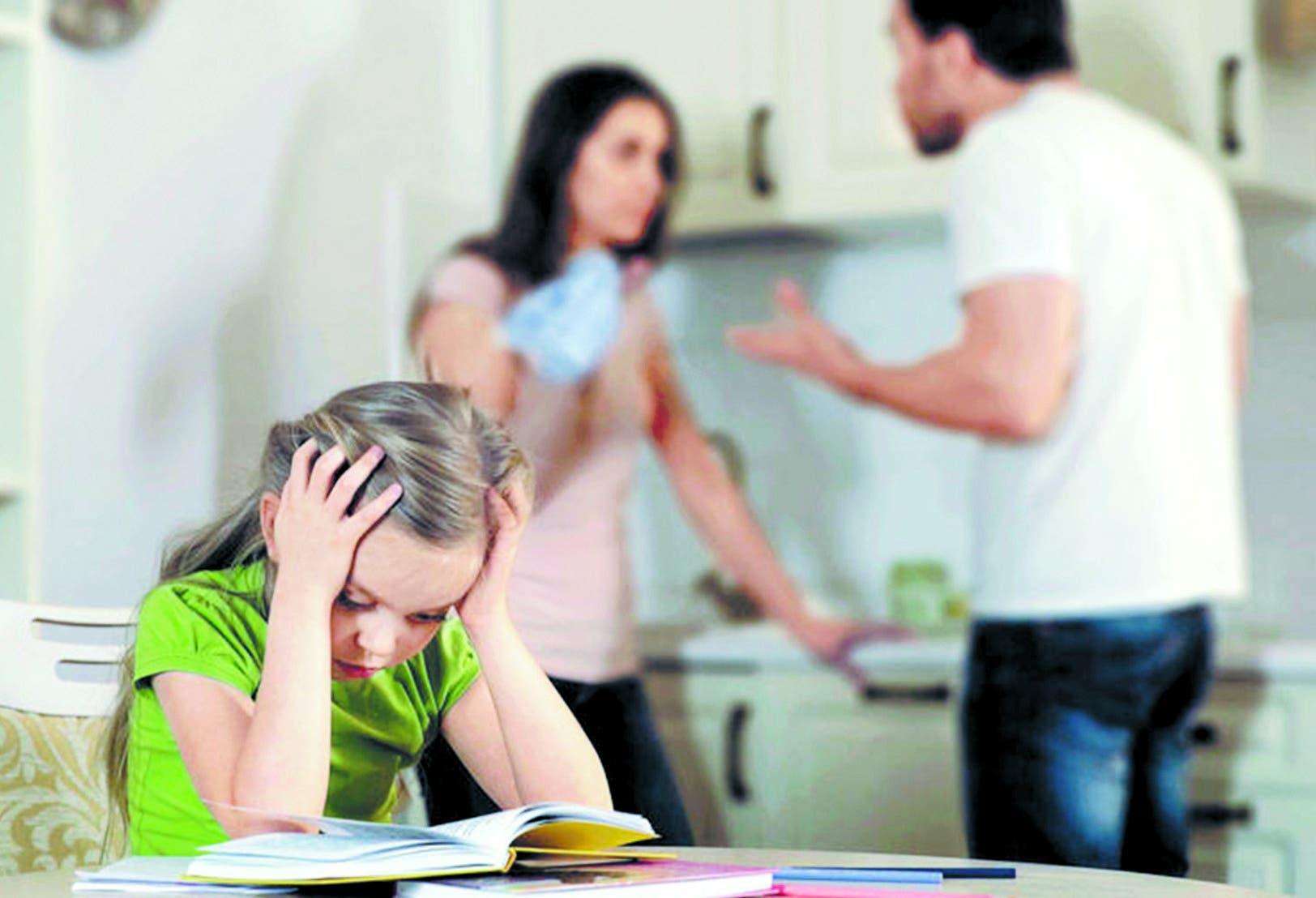 En un divorcio, ¿qué hace más daño a los hijos?