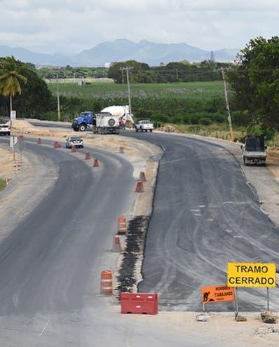 Trabajos en autovía del Coral avanzan