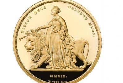 El Reino Unido acuña una moneda 5 kilos
