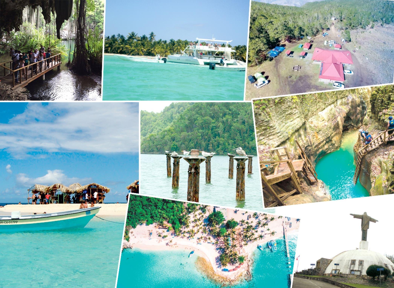 Los sitios ecoturísticos más visitados durante el año 2019