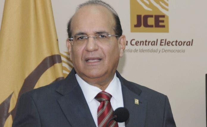 Presidente de JCE solicita a la Cámara de Cuentas que realice una ...