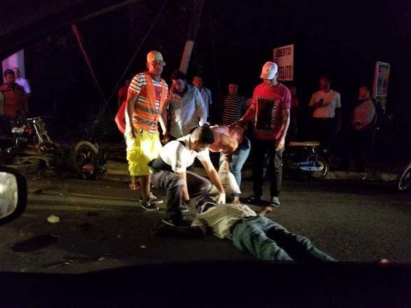 Accidentes dejan 2 muertos y varios heridos en Puerto Plata