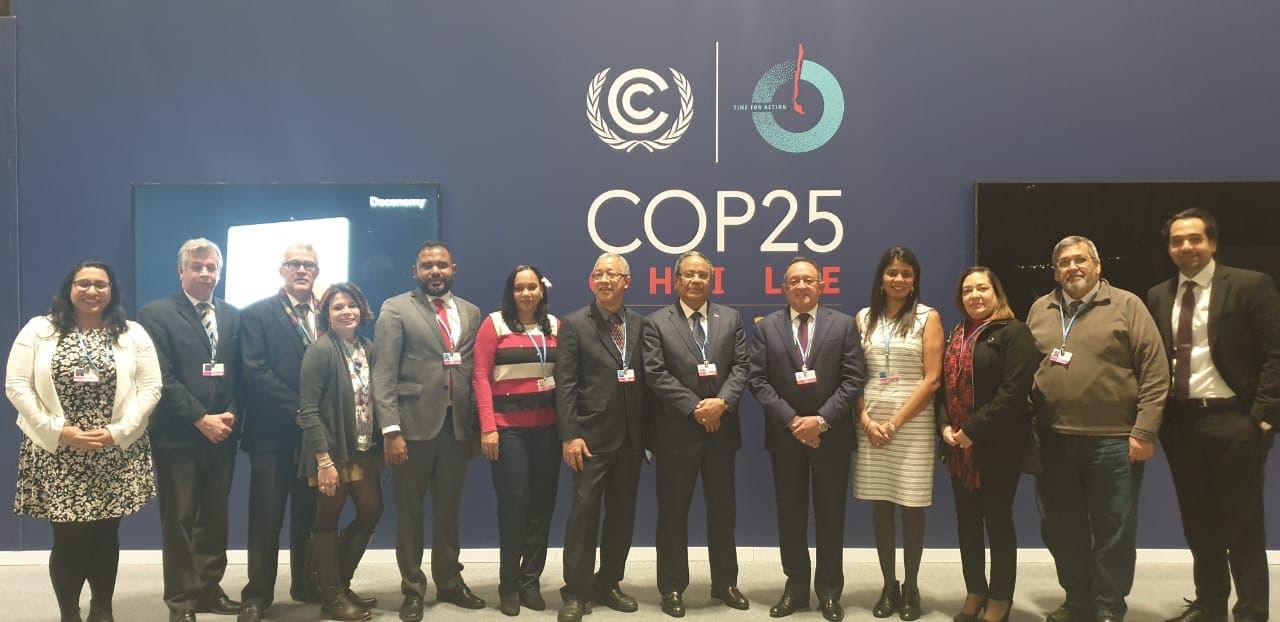 COP25 afirma cambio climático es tema priorizado en agenda nacional