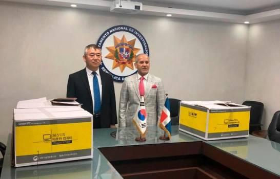 Gobierno de Corea dona computadoras al DNI