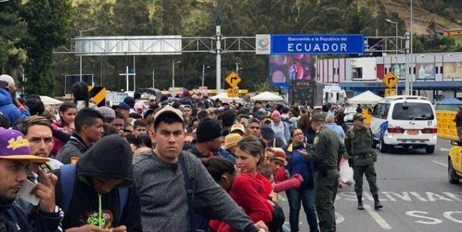 Ecuador entrega cerca de 11 mil visados por razón humanitaria a venezolanos