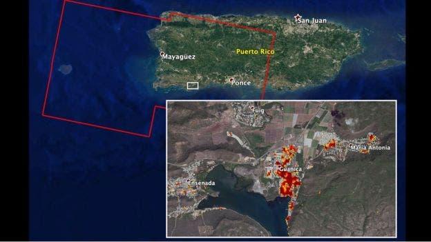 «El relieve de la isla se deformó»: cómo los sismos de Puerto Rico cambiaron la forma en que se ve desde el espacio