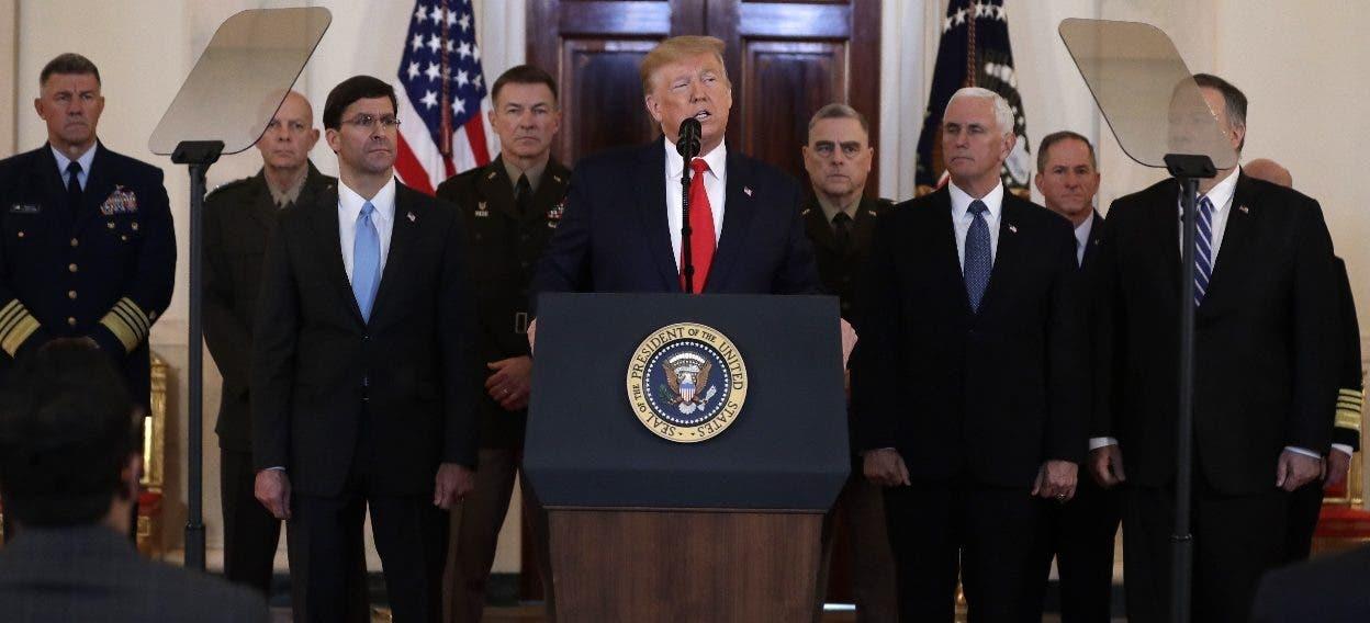 Donald Trump pide sanciones contra Irán tras ataques