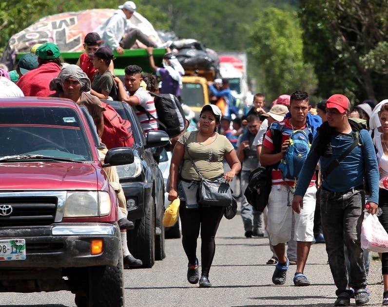 México recibió una alta cuota de refugiados