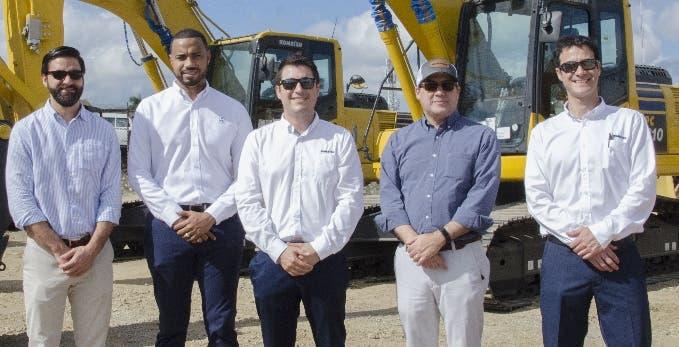 Reid & Compañía presenta los nuevos equipos Komatsu