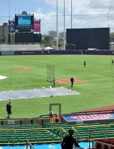 Sismos afectan torneo béisbol de Puerto Rico