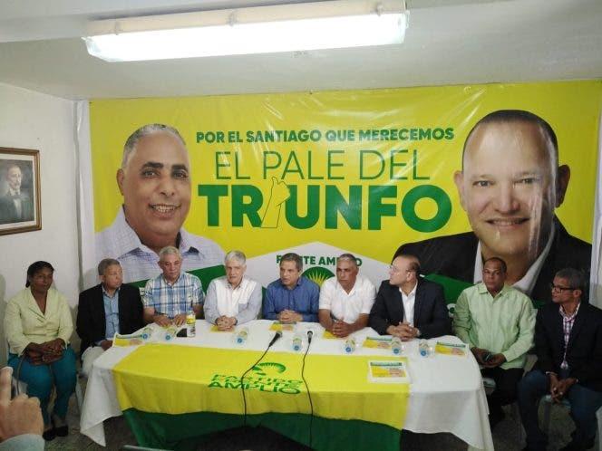 Frente Amplio respalda Eduardo Estrella y Ulises Rodríguez