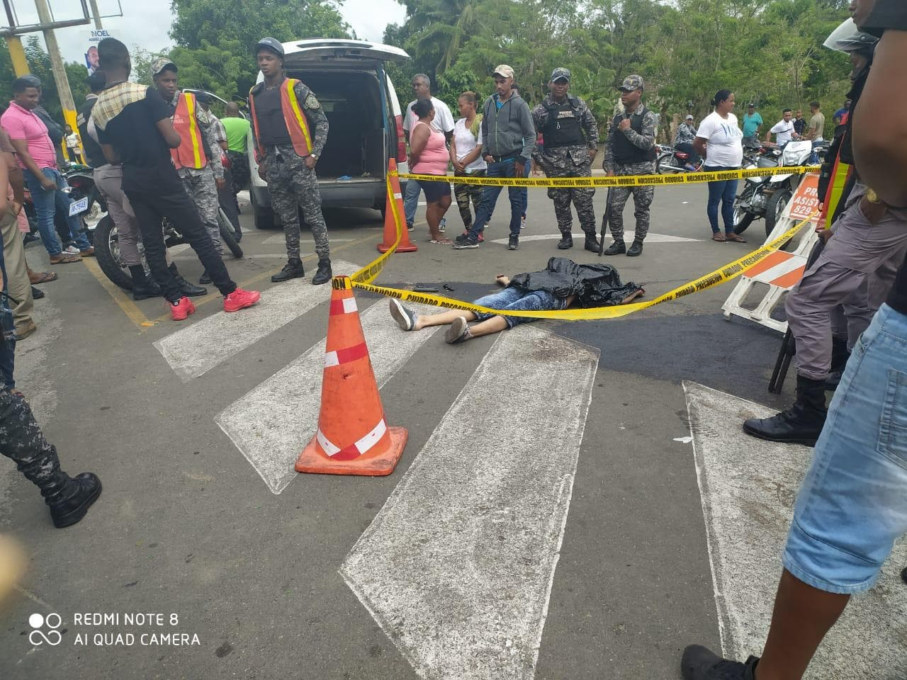Multitud lincha presunto delincuente en Pimentel