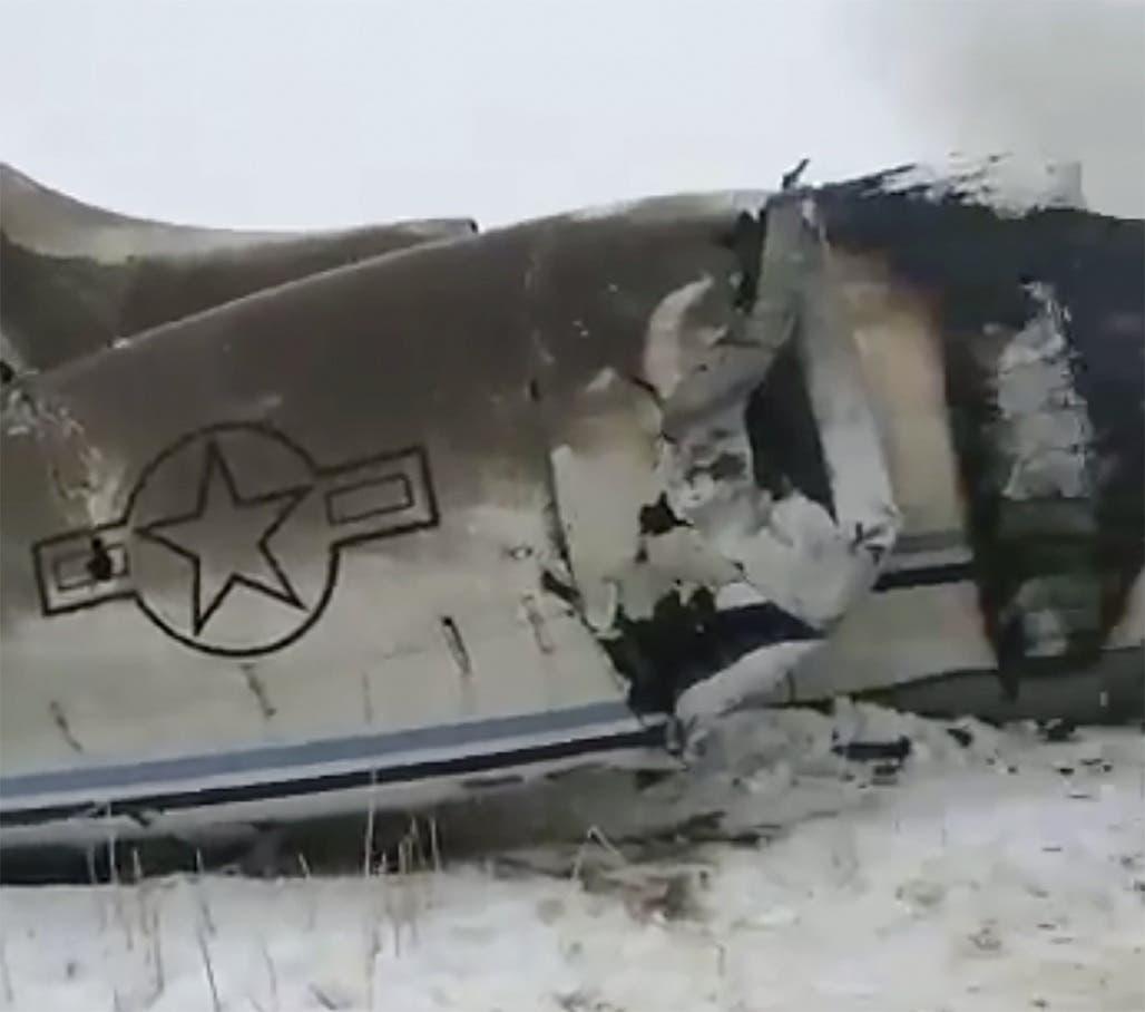 Los talibanes se atribuyen derribo de un avión militar de Estados Unidos