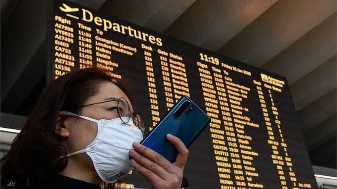 Coronavirus: grandes aerolíneas internacionales suspenden sus vuelos a China y EE.UU. emite una alerta de viaje por la enfermedad de Wuhan