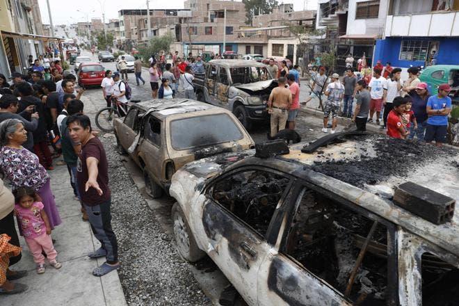 Explosión de camión con gas deja al menos un muerto y 50 heridos en Lima