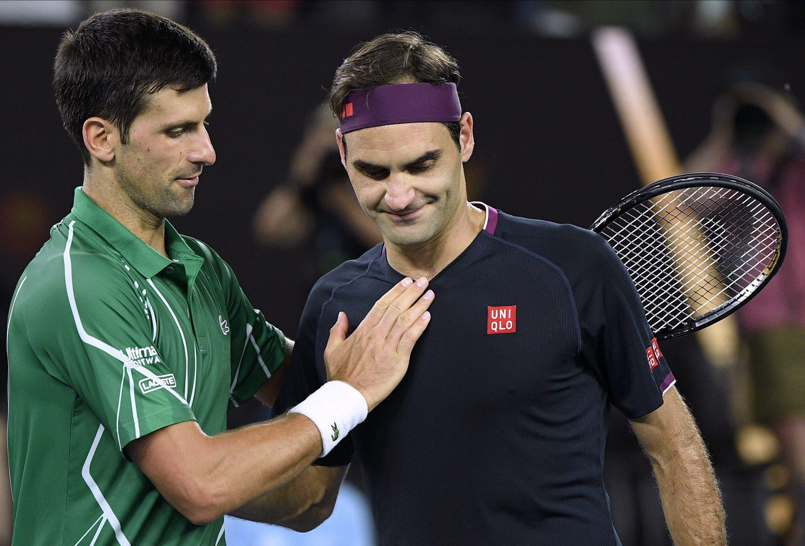 Djokovic derrota a Federer y disputará la final en Australia