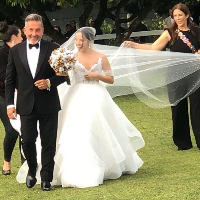 Ricardo Montaner revela que no paró de llorar el día de la boda de Evaluna
