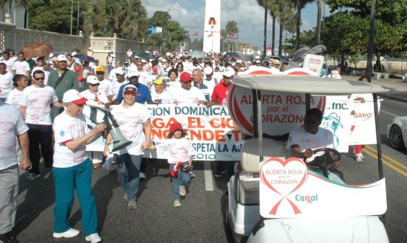 Cardiólogos harán una caminata
