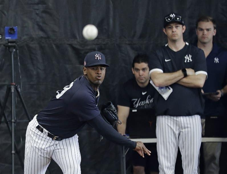 Yankees inactivan a Severino por dolor en  antebrazo