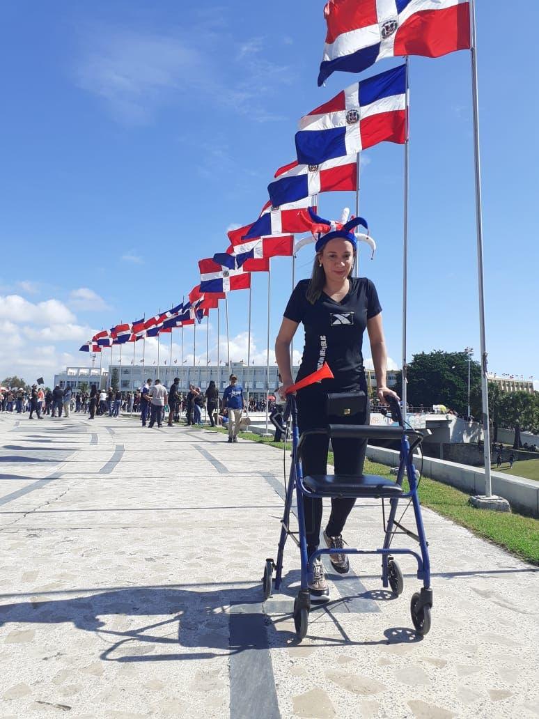 Cuando el elevado patriotismo puede más que la discapacidad