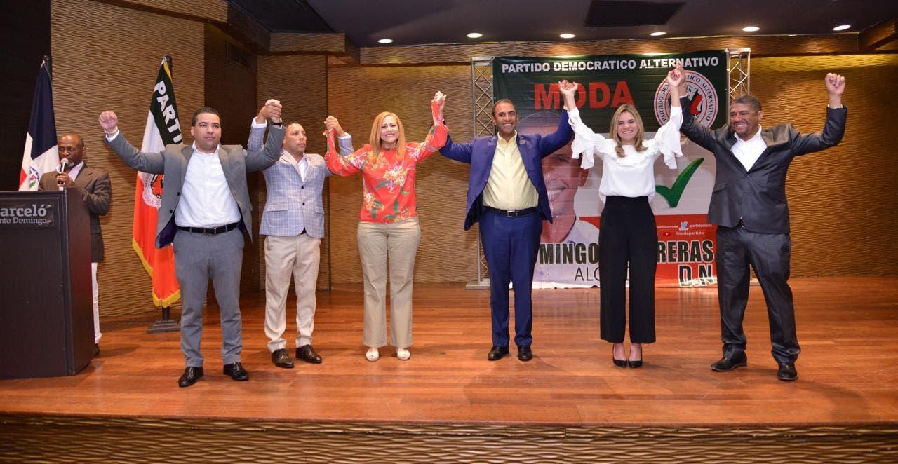 Domingo Contreras recibe el respaldo de MODA