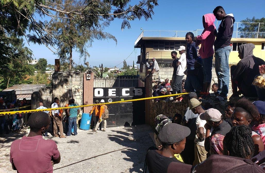 Mueren al menos 14 niños en un incendio de un orfanato en Haití